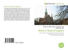 Buchcover von Henry V, Duke of Legnica