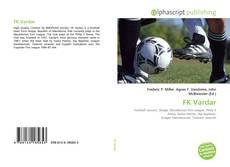 FK Vardar kitap kapağı