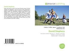 Bookcover of David Stephens
