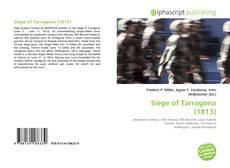 Buchcover von Siege of Tarragona (1813)
