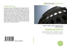 Capa do livro de Augsburg Interim