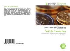 Copertina di Coût de Transaction