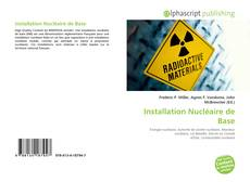 Capa do livro de Installation Nucléaire de Base