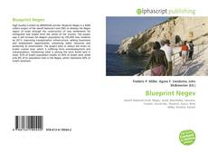 Bookcover of Blueprint Negev