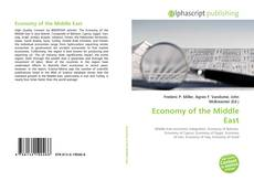 Bookcover of Economy of the Middle East