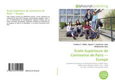 Capa do livro de École Supérieure de Commerce de Paris — Europe