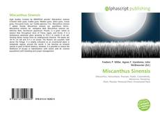 Bookcover of Miscanthus Sinensis