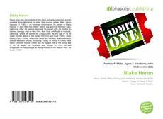 Portada del libro de Blake Heron