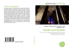 Buchcover von Claude Louis-Combet