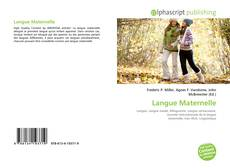 Bookcover of Langue Maternelle