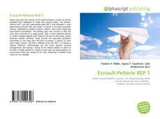 Bookcover of Esnault-Pelterie REP.1