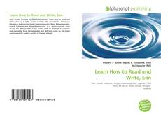 Buchcover von Learn How to Read and Write, Son