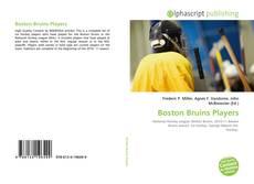 Capa do livro de Boston Bruins Players