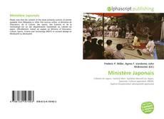 Couverture de Ministère Japonais