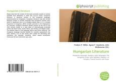 Couverture de Hungarian Literature