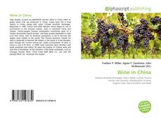 Bookcover of Wine in China