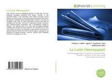 Bookcover of La Lutte (Newspaper)