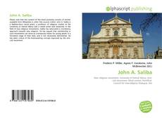 Bookcover of John A. Saliba