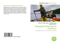Bookcover of Mangalore Chemicals