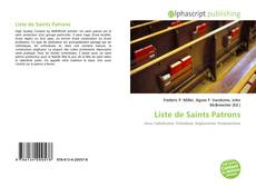 Portada del libro de Liste de Saints Patrons