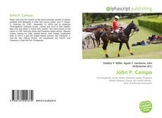 Bookcover of John P. Campo
