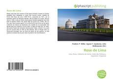 Capa do livro de Rose de Lima