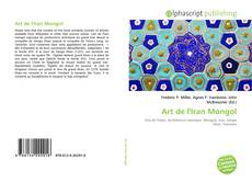 Portada del libro de Art de l'Iran Mongol