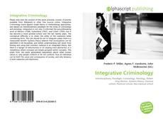 Bookcover of Integrative Criminology