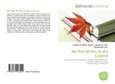 Buchcover von No One Writes to the Colonel