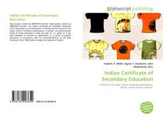 Bookcover of Indian Certificate of Secondary Education