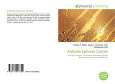 Buchcover von Antoine Ephrem Cartier