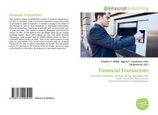 Couverture de Financial Transaction