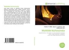 Bookcover of Mathilde Kschessinska