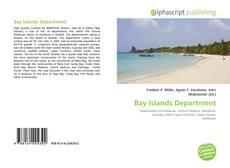 Bay Islands Department kitap kapağı
