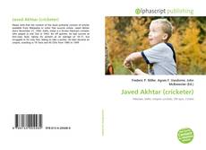 Bookcover of Javed Akhtar (cricketer)