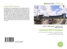 Buchcover von Scotland ODI Cricketers