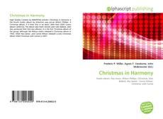 Christmas in Harmony kitap kapağı
