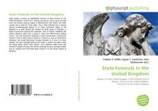 Portada del libro de State Funerals in the United Kingdom