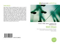 Bookcover of Welt (Shoe)