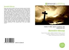 Bookcover of Benedict Biscop