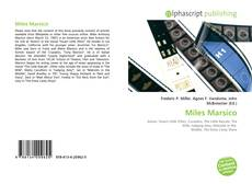 Bookcover of Miles Marsico