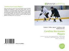 Capa do livro de Carolina Hurricanes Players