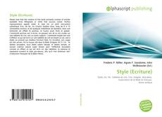 Bookcover of Style (Ecriture)