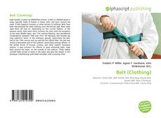 Bookcover of Belt (Clothing)