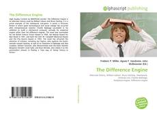 Bookcover of The Difference Engine