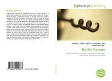 Bookcover of Bottle Opener