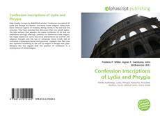 Copertina di Confession Inscriptions of Lydia and Phrygia