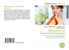 Portada del libro de Régionalisme et Nationalisme (Espagne)