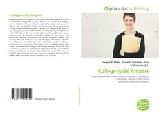 Capa do livro de Collège-lycée Ampère