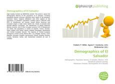 Bookcover of Demographics of El Salvador